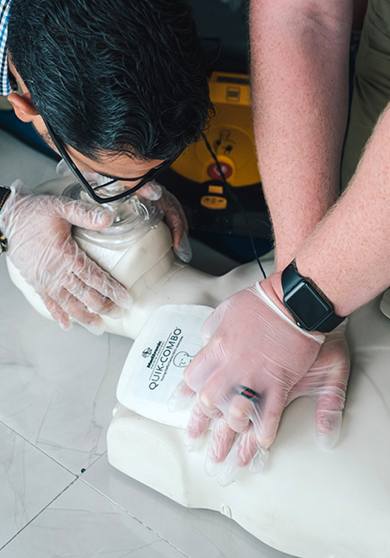 First Aid, <br> CPR &#038; AED Training