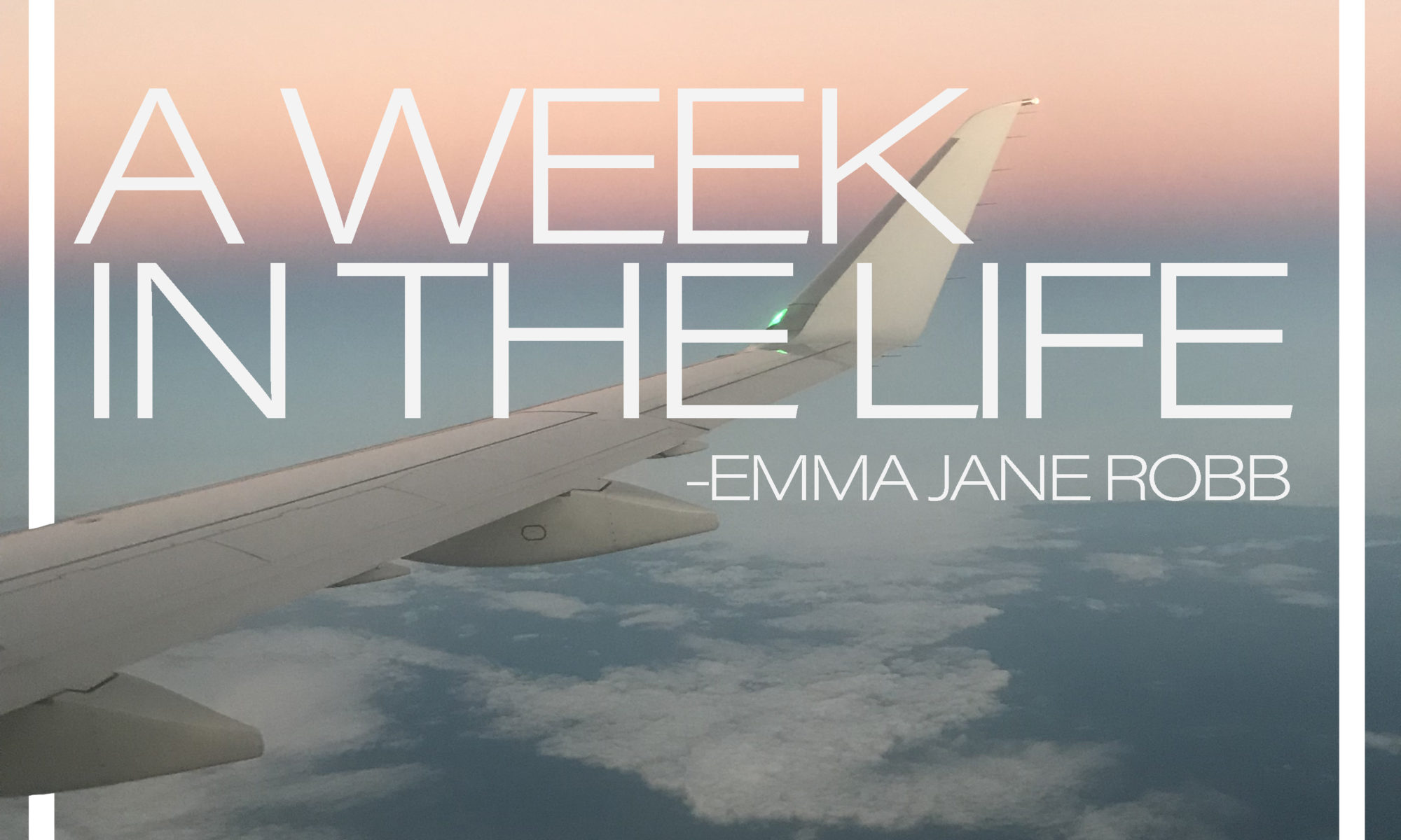A Week in the Life . . .