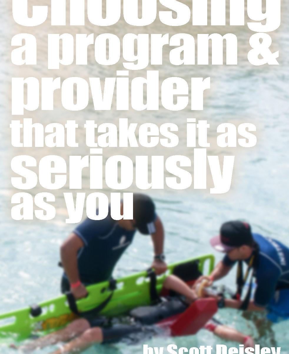 Choosing a Program